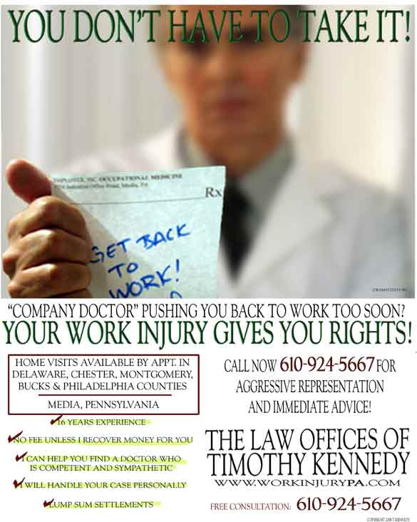Media Workers Compensation Lawyers Yellow Pages Ad