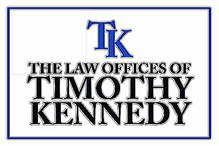 Law Offices of Timothy Kennedy Logo - Ink Outline